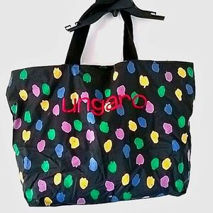 Handbags - Ungaro Logo Extra-Large Zippered Tote Bag